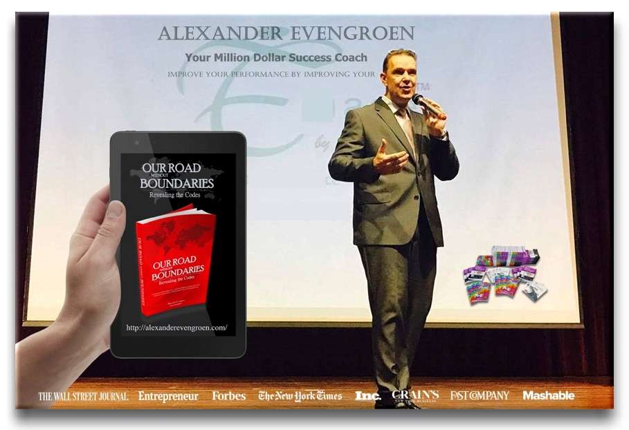 Alexander Evengroen during event